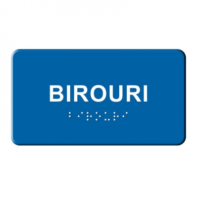Indicator BRAILLE  - Birouri