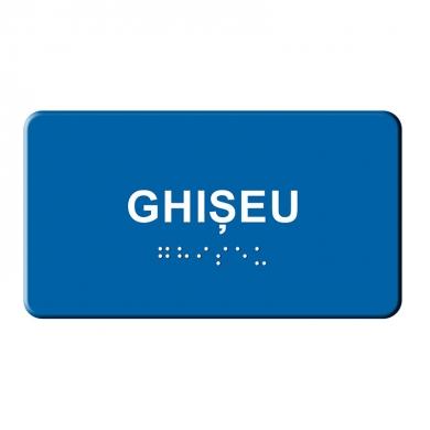 Indicatoare BRAILLE  - Ghiseu