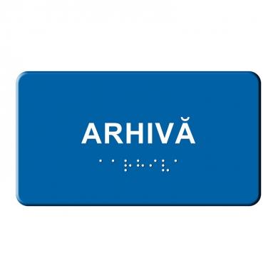Indicator tactil  - ARHIVĂ