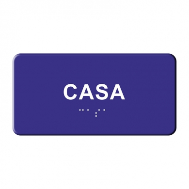 Indicatoare tactile BRAILLE - CASA