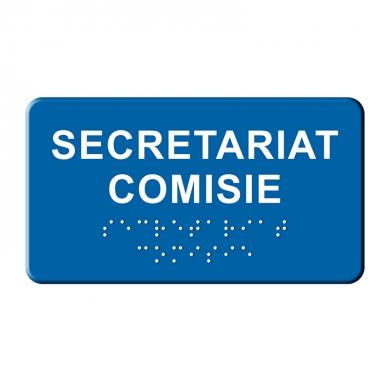 Indicatoare tactile BRAILLE - Comisie