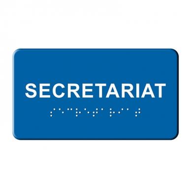 Indicatoar tactil BRAILLE  - Secretariat