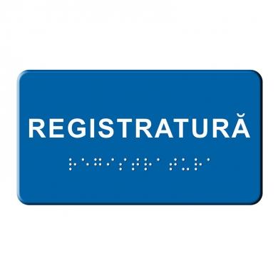 Indicator tactil - Registratura