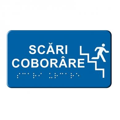 Indicator tactil Scara Coborare