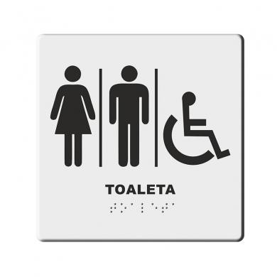 Indicator Tactil Acces Toaleta