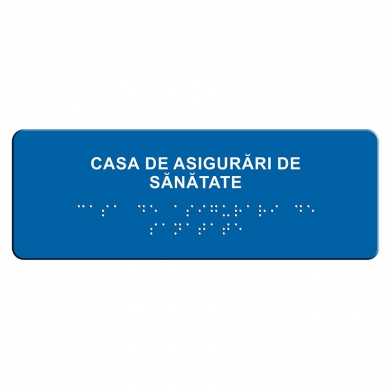 indicator tactil Braille - C A S