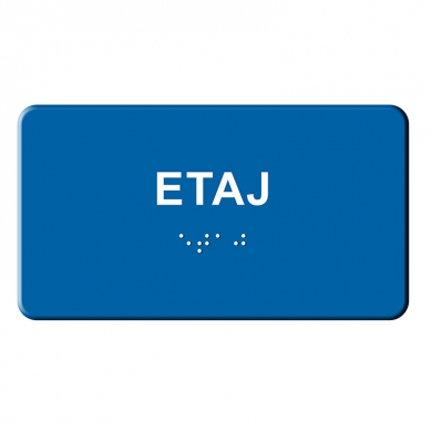 indicator tactil Braille - ETAJ