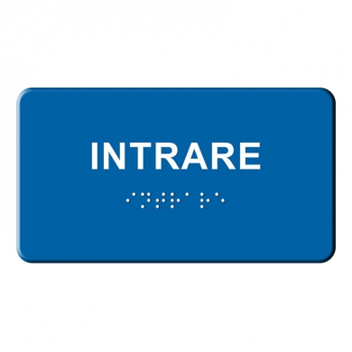 Indicator tactil Braille - INTRARE