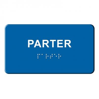 Indicator tactil Braille - PARTER