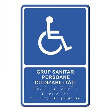 Indicator Tactil Braille Sanitar