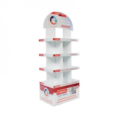 Stand promovare produse din carton 006