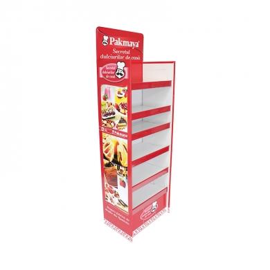 Stand pliabil din carton 024