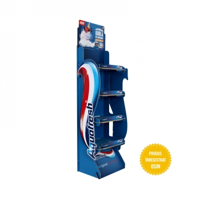 Display pasta dinti Aquafresh - HDF 025