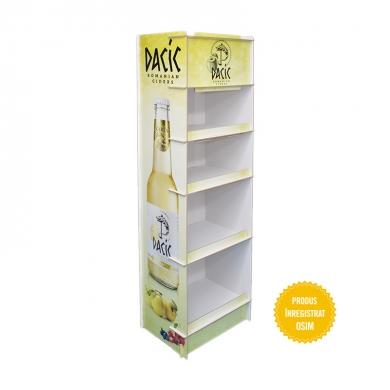 Stand pt. bauturi cu rafturi inegale - 015