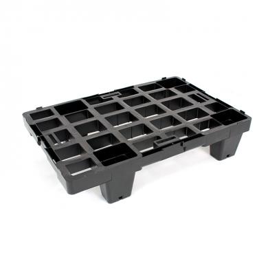 Suport plastic L pentru standuri din carton